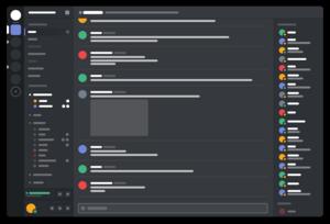 Screenshot de l'interface Mumble RudeboyZ